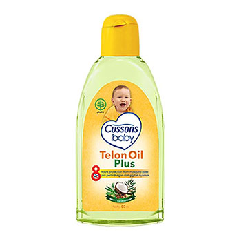 Cussons Baby Telon Oil Plus photo via bukalapak.com