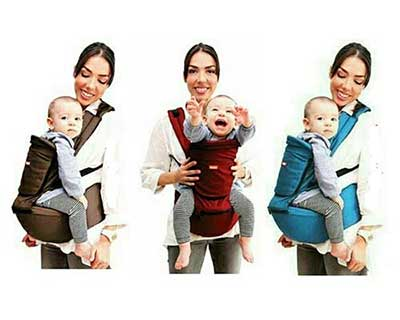 KIDDY Hipseat and Baby Carrier 6 in 1