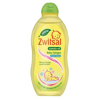 Zwitsal Baby Cologne Natural Fresh Floral Kisses with Canola Oil